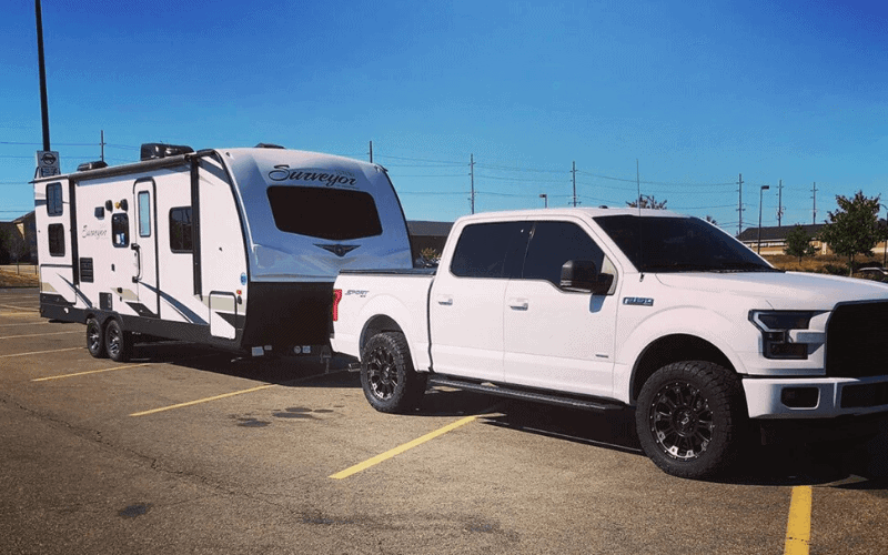 F 150 Towing Capacity What Size Travel Trailer Can A F 150 Pull