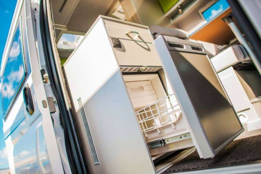 Make Sure The Rear Of The RV Refrigerator Isn't Blocked