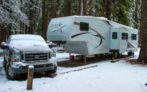 Best 4 Season Travel Trailer & RV Campers For Cold Weather Camping