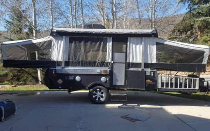 Pop Up Campers With Bathrooms Showers, Pop Up Tent Trailer With Bathroom