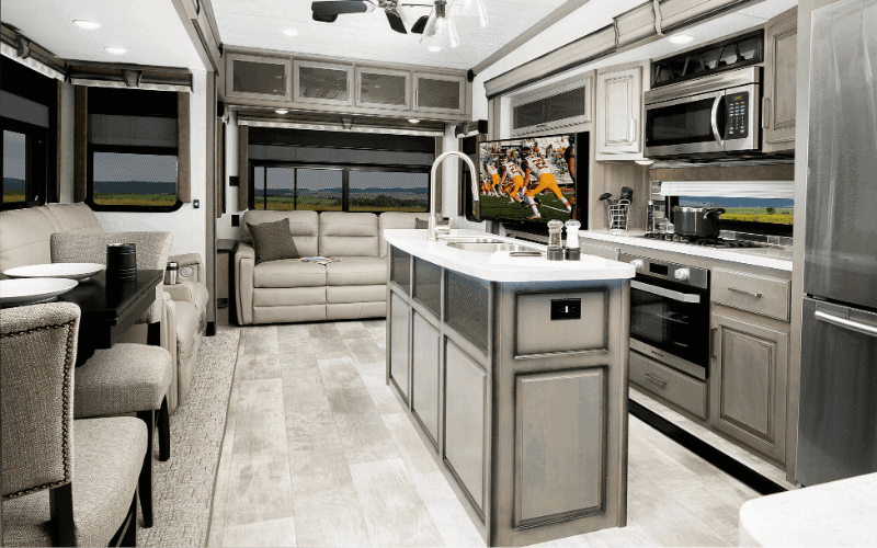 6 Excellent Fifth Wheel Floor Plans With Front Kitchen Rving Know How