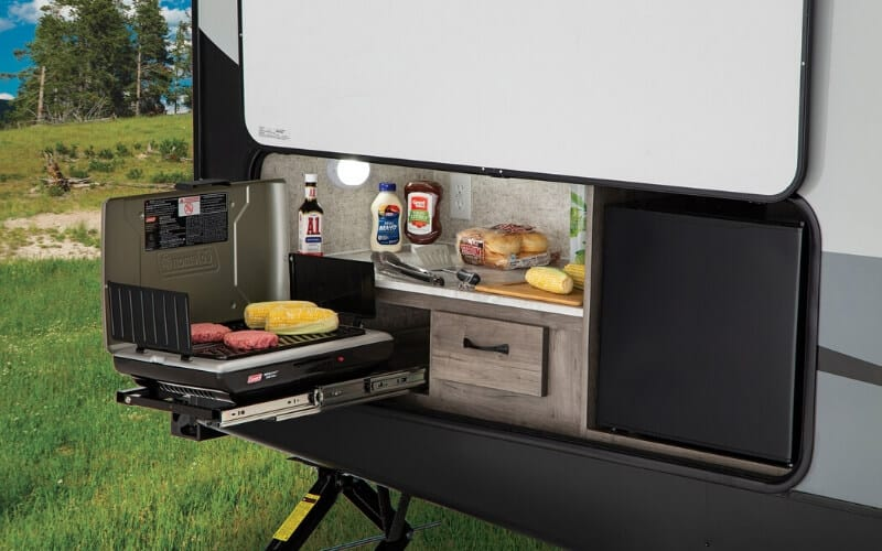 7 Incredible Travel Trailers With Outdoor Kitchens Rving Know How