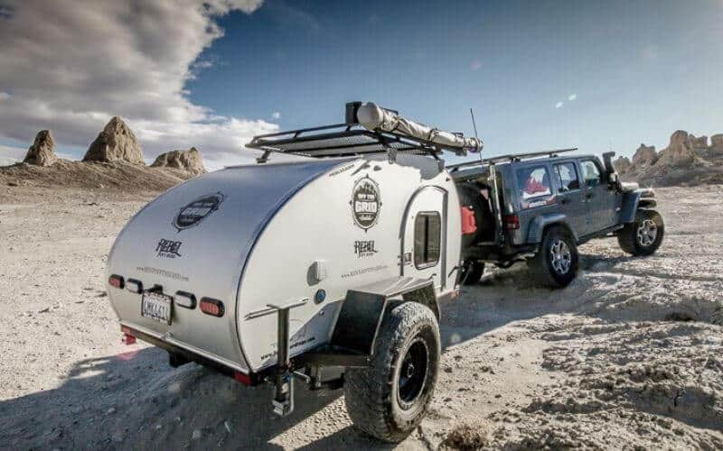 Towing A Travel Trailer With A Jeep Wrangler