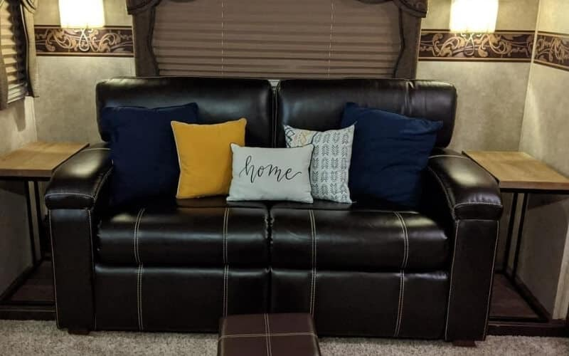 Rv Sofa Bed 10 Best Couch Or, Travel Trailer Furniture