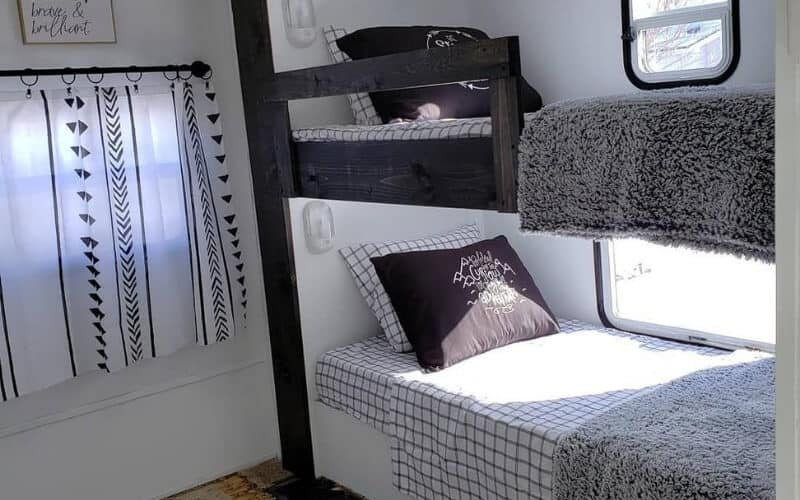 8 Incredible Travel Trailer Floorplans With Bunk Beds Rving Know How