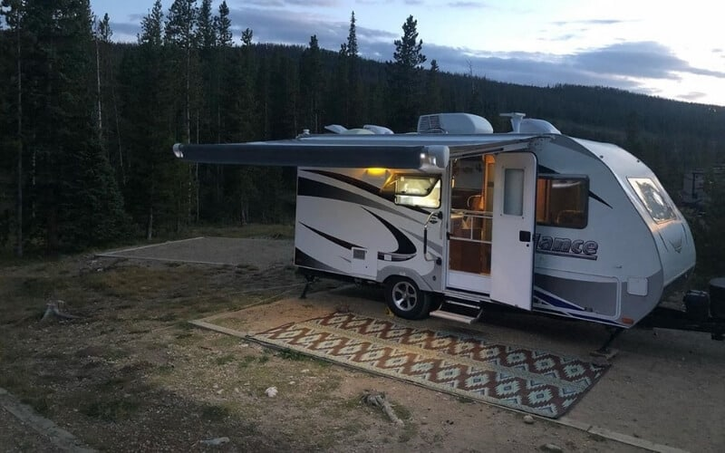 9 Awesome Small Camping Trailers With Bathrooms - RVing ...