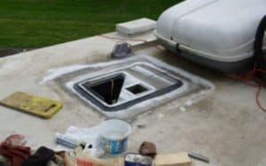 RV Air Conditioner Leaks When It Rains