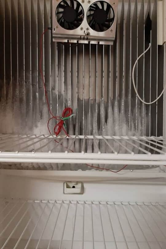 Tips For Preventing An RV Refrigerator From Icing Over