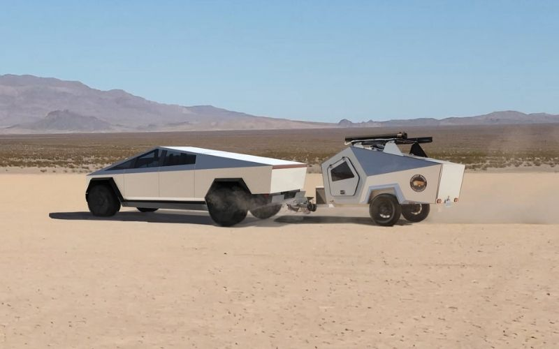 Can A Tesla Cybertruck Tow An RV Or Camper Trailer