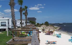 Beachfront RV Parks And Campgrounds In Florida