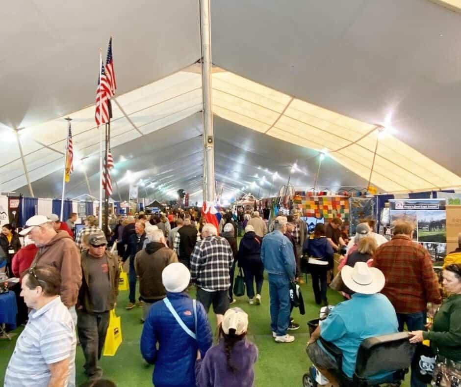 Quartzsite Big Tent Show
