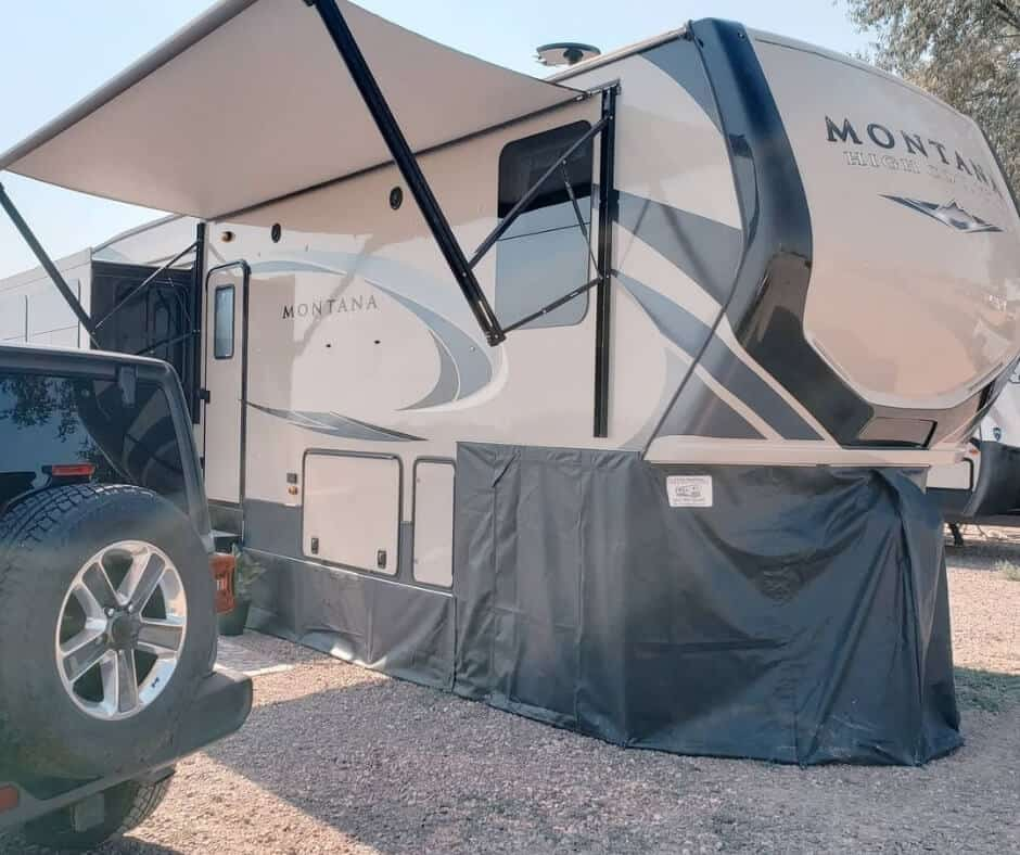What Is RV Skirting