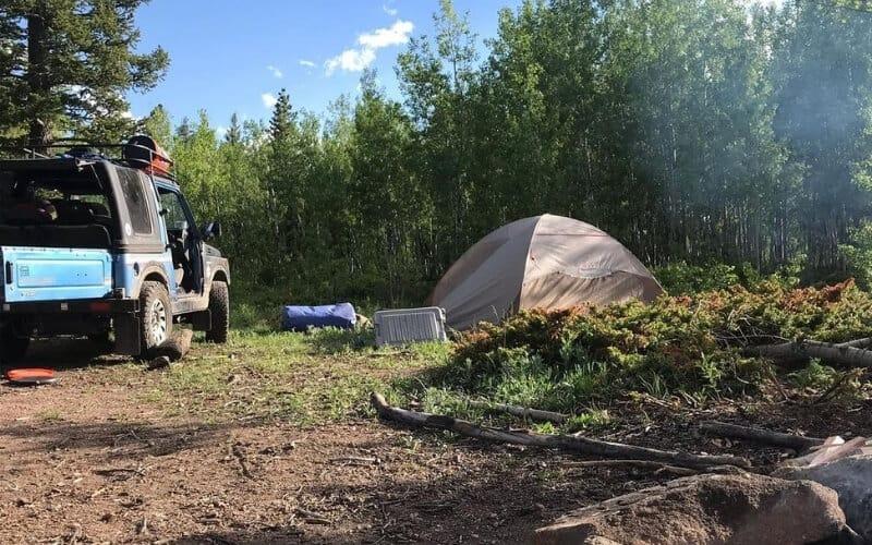 Free Camping in Colorado