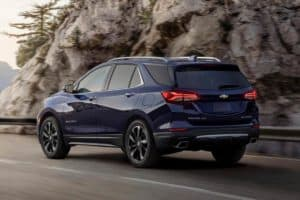 Can The 2021 Chevy Equinox Tow A Camper Trailer?