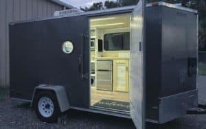 How To Convert A Cargo Trailer Into A Camper
