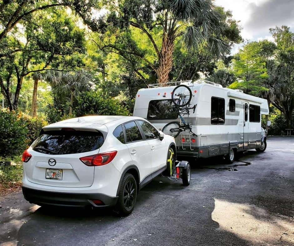 Will You Be Towing A Boat Or Car Behind Your Motorhome