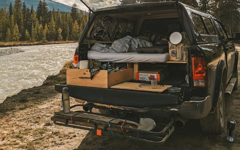 6 Sleeping Platforms Ideas For Truck Camping