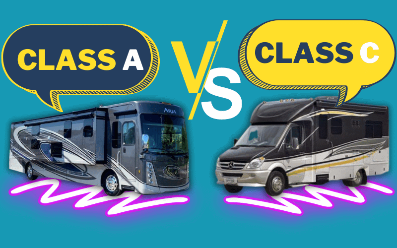Class A Vs. Class C Motorhomes: Where They Differ & Which RV Is Best For You?